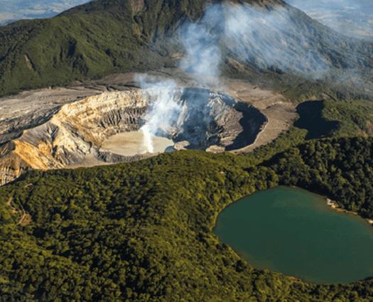 picture of Poas Volcano.