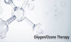 Illustration depicting a holistic oxygen/ozone therapy.