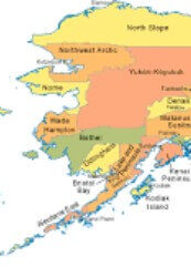 Picture of the alaska state.