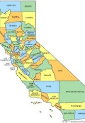 Picture of the california state.